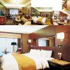 Neue Entwurfs-Hotel-Schlafzimmer-Möbel mit Gewebe