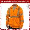 Het naar maat gemaakte hallo Oranje Jasje van Hoodies van de Veiligheid van het Werk Vis (elthjc-401)