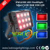 RGB LEIDENE Lichte 15W*12PCS MAÏSKOLF LEDs voor Openlucht Waterdichte Verlichting IP65