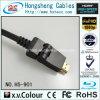 De Wartel van de Kabel van het nieuwe Product HDMI 180 Graad voor Apparaten HD en het Theater van het Huis