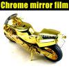 Пленка обруча автомобиля золота зеркала крома