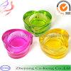 De kleurrijke Houder van de Kaars van het Glas van Tealight van de Vorm van het Hart (CKGCR130208)