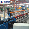 PVC 체인 연결 담 철망사 기계