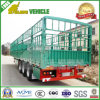Animal Transport Stake Fence 3 Eixos Trailer do cavalo