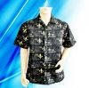 Overhemd van het Kamp van het Af:drukken van de Sublimatie van de Polyester van 100% Man