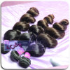 Ventas al por mayor 100% extensión del pelo humano de la Virgen de primavera Curly