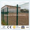 2017 venta caliente Panel de valla metálica galvanizada Malla de alambre soldado Jardín