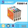 Patroon van de Inkt van de Kleur van de top de Compatibele voor Epson t0561-4