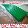 Hoja para techos metálicos de acero prepintado ondulado
