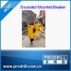 Exvacator hing hydraulischen Felsen-Unterbrecher ein