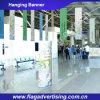 Fabricante de bandera de encargo de la visualización de la tela, bandera colgante