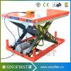 elektrische 3ton 3000kg Scissor der kundenspezifische Ladeplatten-Aufzug Aufzug-Tisch