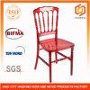 Cadeiras vermelhas duráveis de Napoleon da resina do policarbonato