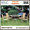 庭の藤のテーブルのためのガラステーブルの家具か現代テーブルおよび椅子及び椅子または藤の家具のダイニングテーブル(SC-B1011)