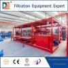Machine de filtre-presse de traitement des eaux de Dazhang avec le plateau automatique d'égouttement