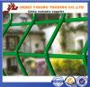 Frontière de sécurité soudée supérieure de maille enduite par PVC de fil d'acier de qualité