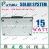 휴대용 태양 에너지 체계 (PETC-FD-15W)