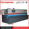 QC12k CNC-hydraulische Schwingen-Träger-Platten-scherende Maschine 4*6000