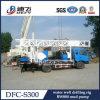 precio usado montado carro de la perforadora del receptor de papel de agua de la perforación Dfc-S300 de los 300m para la venta