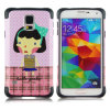 Water Sticker Cartoon Comob Case for Samsung S5 I9600