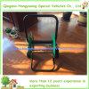 Carro compacto del carrete del manguito de la yarda con 2 ruedas
