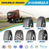 Garantía 315 de la calidad de 1 año 80 neumático del carro de R 22.5