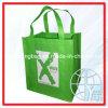 Le supermarché non tissé de vert met en sac (ENV-NVB018)