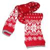 Симпатично грейте связанный шарф жаккарда шарфа (TWS-K11612)