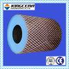 Acido del macchinario minerario & franamento & puleggia di gomma di ceramica di rivestimento isolante dell'allumina resistente all'uso
