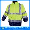 Куртка дождя оптовой работы равномерная Nylon водоустойчивая Windproof
