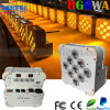 IGUALDAD con pilas de la radio DMX LED de RGBWA 5in1 LED