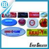 la bóveda redonda 3D etiqueta las etiquetas engomadas para la promoción