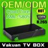 Nouveaux produits chauds pour 2014 ! L'appui Ott, Xbmc d'Amlogic S805 de boîte du noyau 4k TV de quadruple de l'androïde 4.4 avec plein HD Wallpapers 1080P