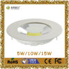 LED Downlight 10W 85-265V 700lm Aluminium COB