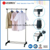 Самый лучший продавая портативный Extendable металл крома Одиночн-Штанги одевает шкаф (CJ-B1032)