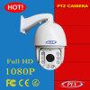 Caméra de sécurité infrarouge imperméable à l'eau de télévision en circuit fermé d'IP PTZ de dôme de la vitesse 1080P