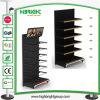 System-bequemes Speicher-Metallbildschirmanzeige-Wand-Regal