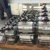 3 partes Butt-Weld pneumáticas dobro de válvula de esfera com pressão 150lb