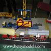 Делать масштабной модели места промышленной тележки работая (BM-0437)