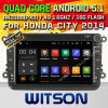 Carro GPS do Android 5.1 de Witson para VW B6 (A5308)