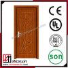 Деревянная одиночная дверь конструирует нутряную дверь PVC деревянную (WX-PW-104)