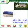 Bateria Lcpa12-120 acidificada ao chumbo
