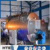 El carbón de la fabricación de China encendió 91 la caldera de agua caliente asistida tubo de la circulación del ángulo del MPa del MW 1.6