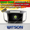 Carro DVD GPS do Android 5.1 de Witson para Hyundai IX25 com sustentação do Internet DVR da ROM WiFi 3G do chipset 1080P 16g (A5584)