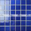mosaico quadrato del reticolo lustrato cristallo dell'azzurro di cobalto di 48X48mm (BCK601)