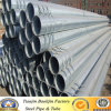 Dipped caldo Galvanized Welded Steel Pipe per Structure