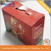 Printing personnalisé Corrugated Paper Box avec Handle (QYZ296)
