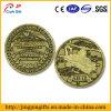pièce de monnaie de défi en métal de bronze d'antiquité de l'hélicoptère 3D (série 4)