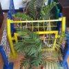 загородка PVC 3D покрытая, анти- загородка подъема 358, проволочная изгородь двойника Nylofor 2D, строб загородки