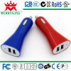 USB Car Charger di 5V 2.1A Dual per iPhone/iPad/Tablet/Mobile